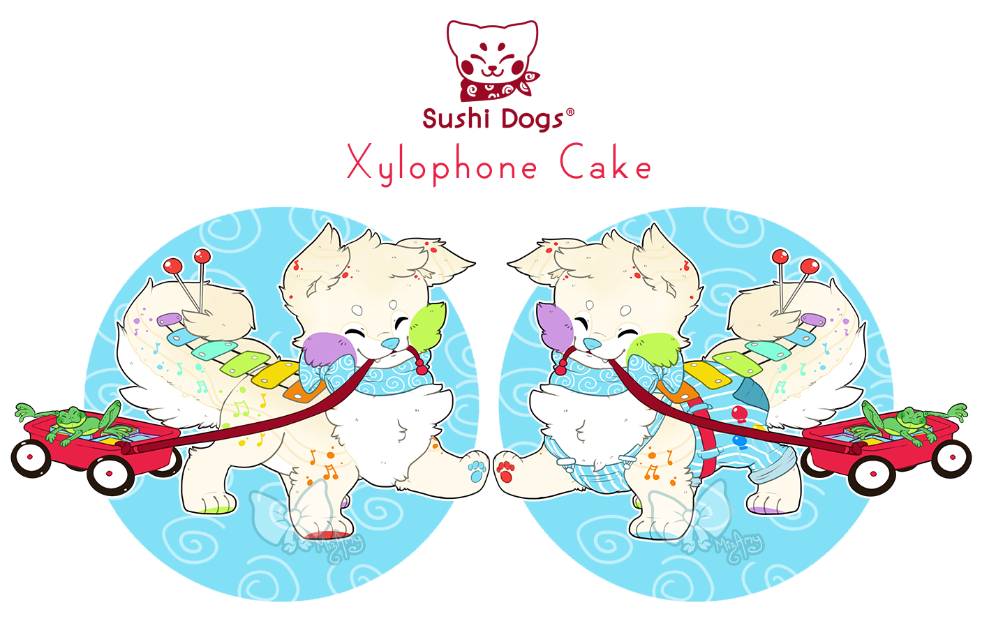 Guest Sushi Dog - CLOSED - Xylophone Cake by Kandy-Cube on ...