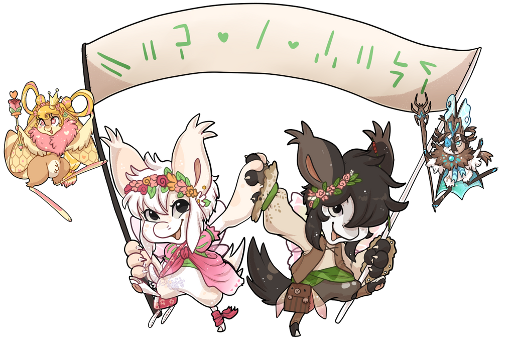 Hop a long banner by Kandy-Cube