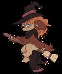 #862 Kryptox w/m - Clumsy Autumn Witch