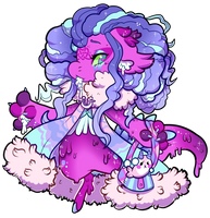 #1801 Charity Mythical - Melty Selkie by Kandy-Cube