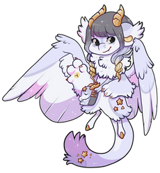 #3001 Mythical bb - Wish Dragon by Kandy-Cube