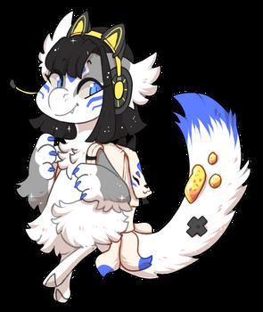 #4876 Bagbean - Gamer Kitsune