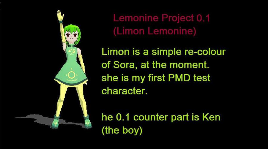 PMDeditor: Limon Lemonine by mitchika2