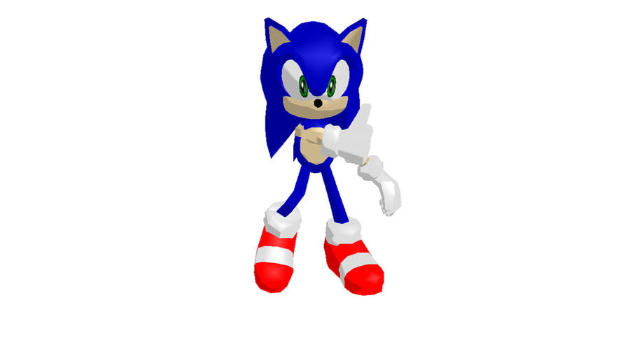 MMD: SONIC the hedgehog by mitchika2