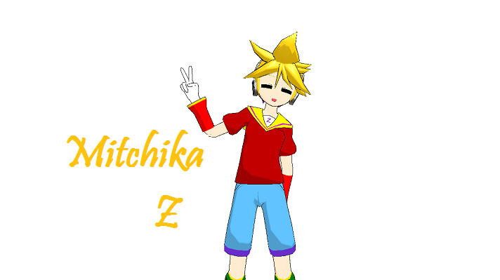 MikuMikuDance: Mitchika Z by mitchika2