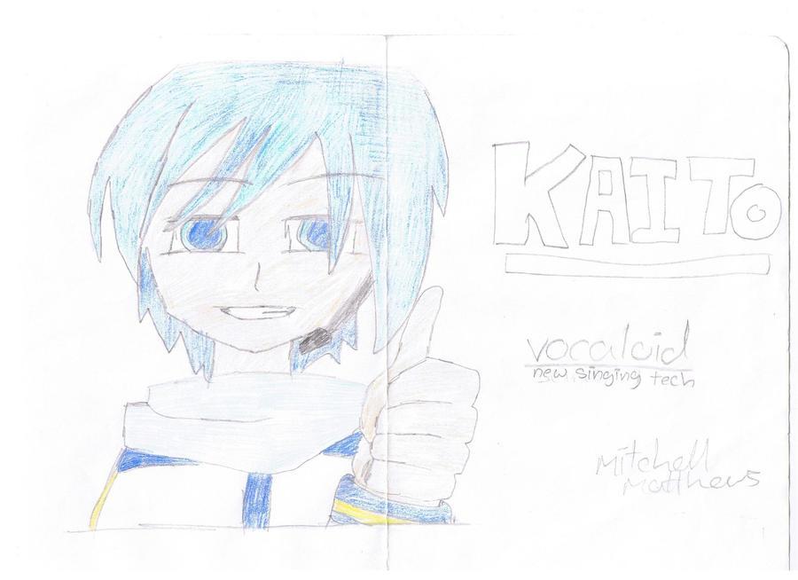 drawings: KAITO by mitchika2