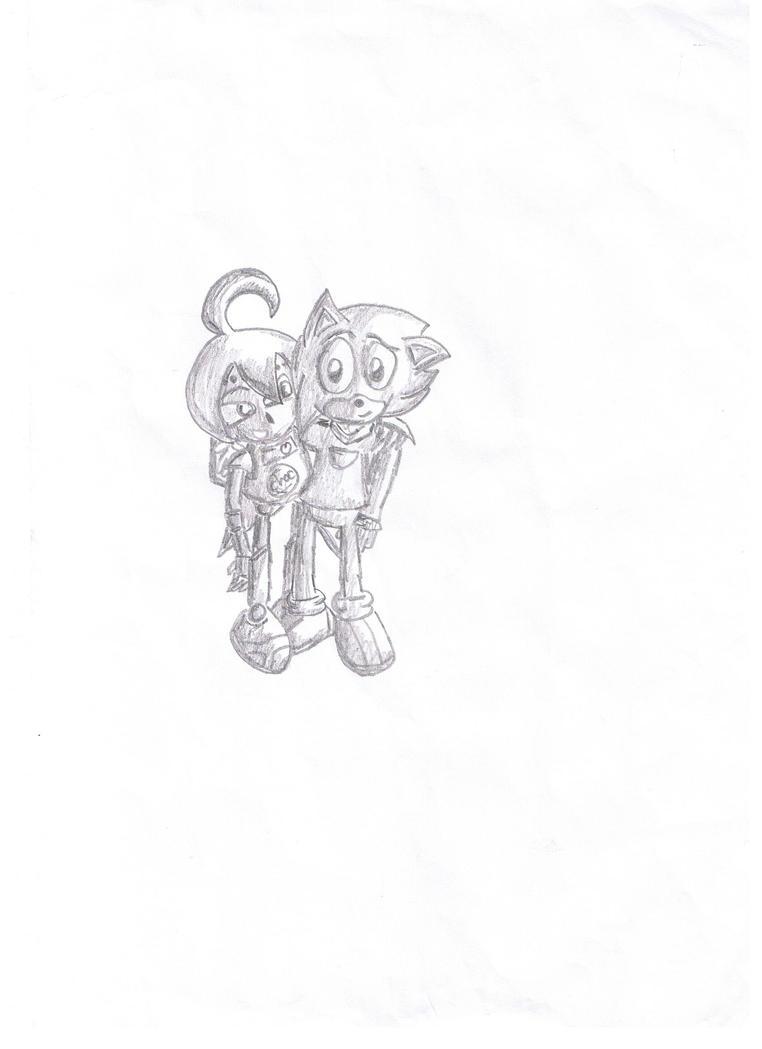 Choc and Randy by mitchika2