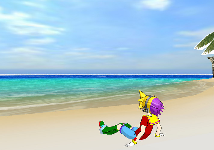 MMD - Z at the beach by mitchika2