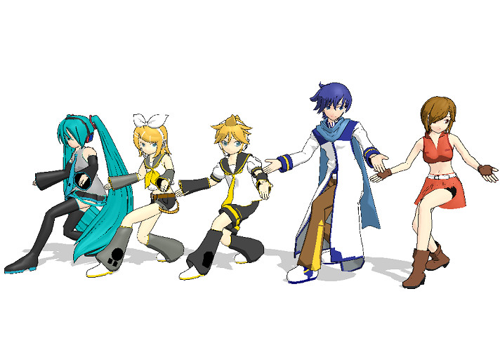 MMD - Everyone do the KAITO by mitchika2