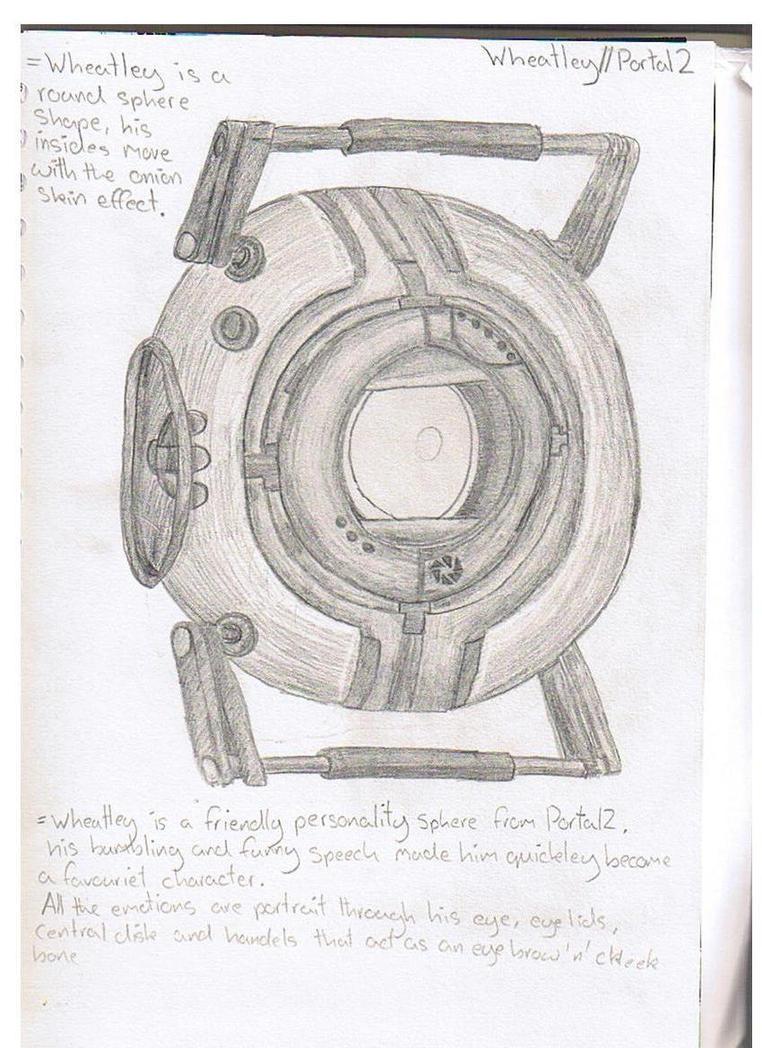 ART - Wheatley tonel sketch by mitchika2