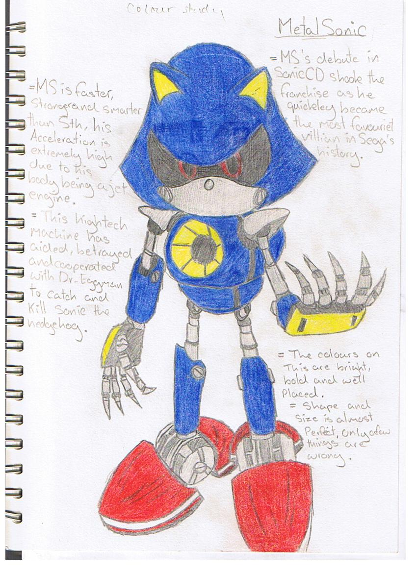 ART - MetalSonic study by mitchika2