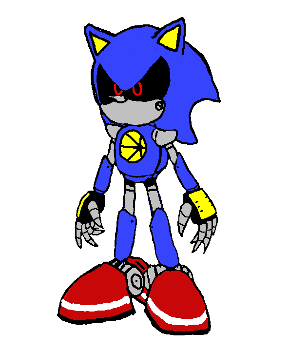 Metal over Sonic - 3 by mitchika2