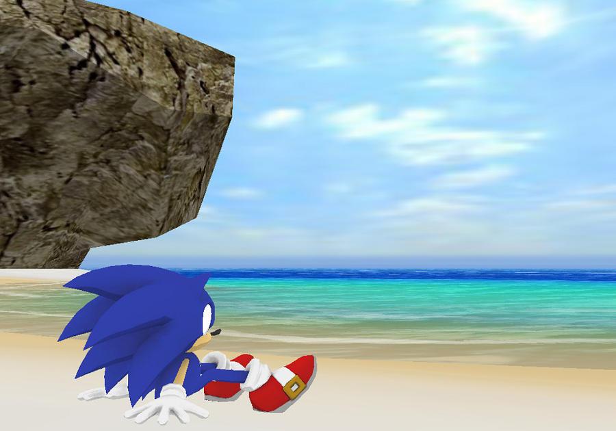 MMD Sonic 5 by mitchika2