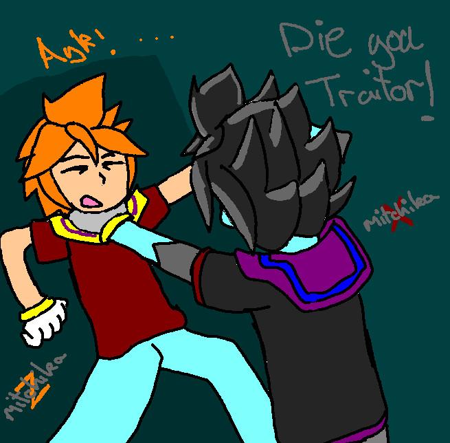 Die traitor by mitchika2