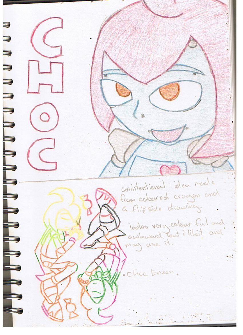 neon Choc ideas - ART by mitchika2