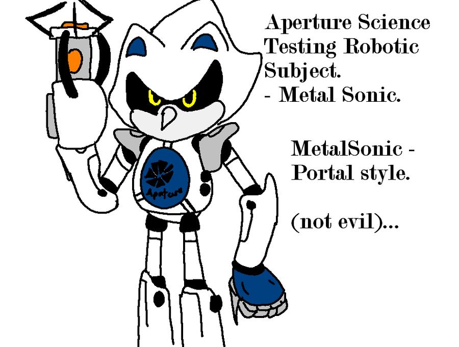 PORTAL - Metal Sonic by mitchika2