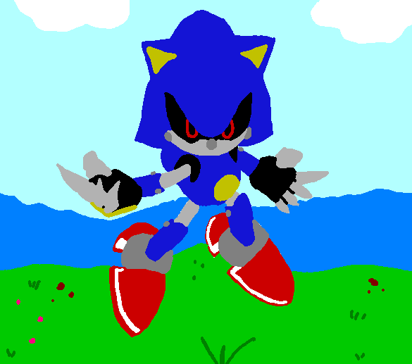 MetalSonic is ready by mitchika2