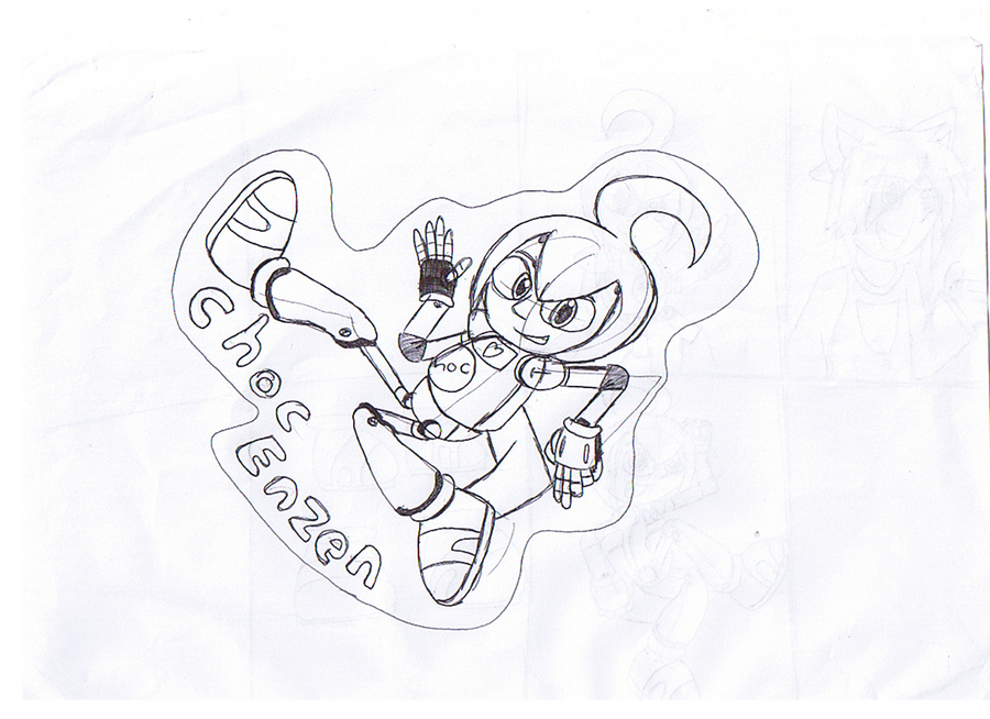 Choc doodle by mitchika2