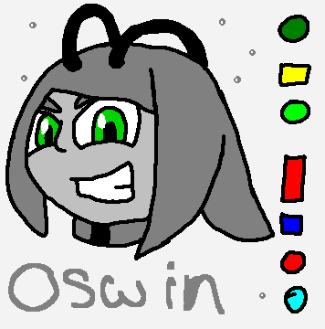 Oswin Head - Villianous by mitchika2