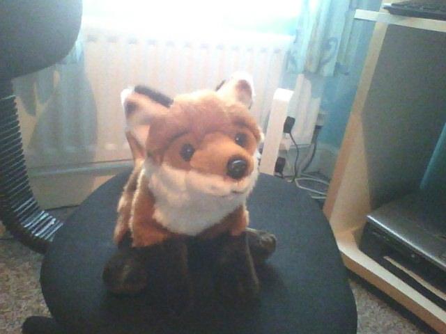 Fox plush of mine by mitchika2