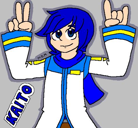 KAITO finger horns by mitchika2