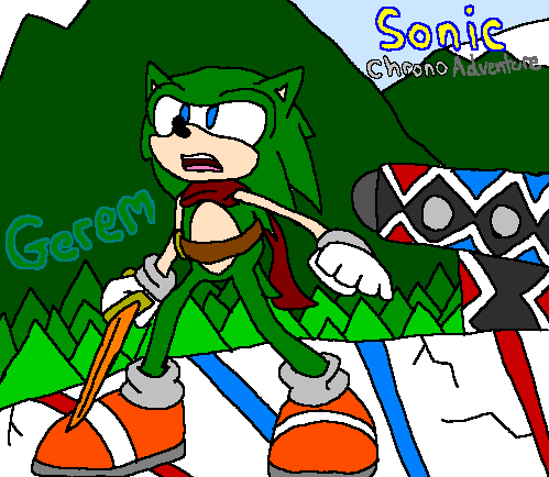 Sonic Chrono Adventure - Gerem by mitchika2