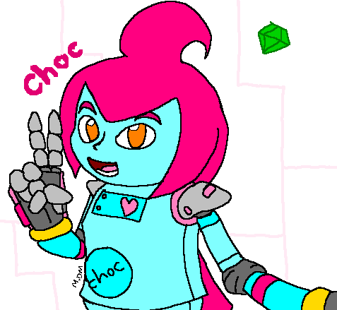 Choc peace by mitchika2