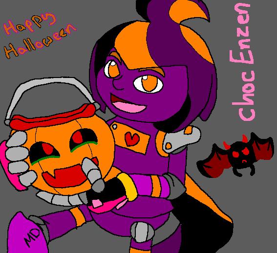 Halloween Choc 2015 by mitchika2