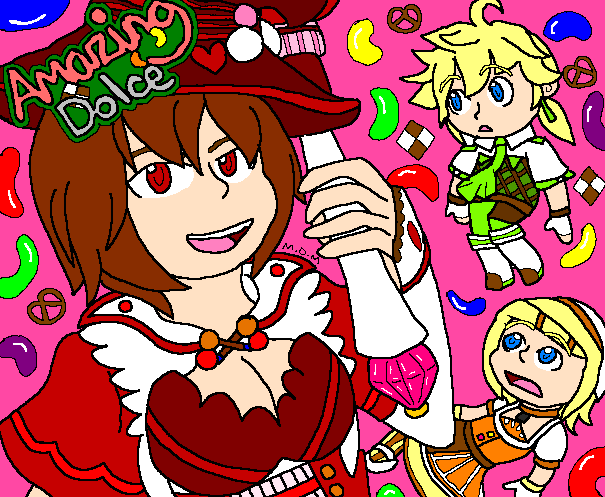 Amazing Dolce - The Strawberry Witch by mitchika2