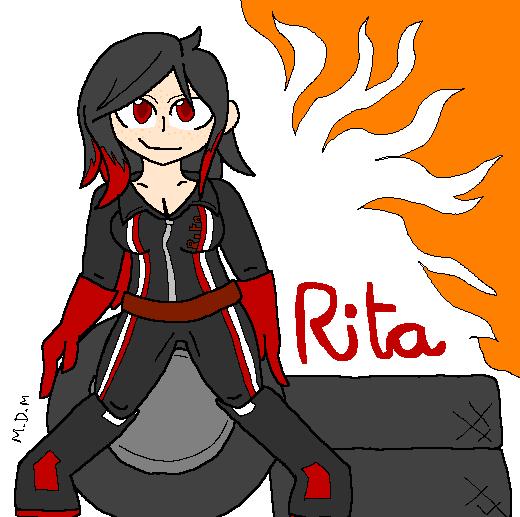 [Art Gift] MTC Rita by mitchika2