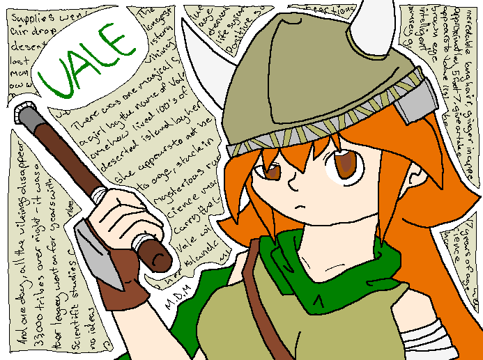 Vale the Viking by mitchika2
