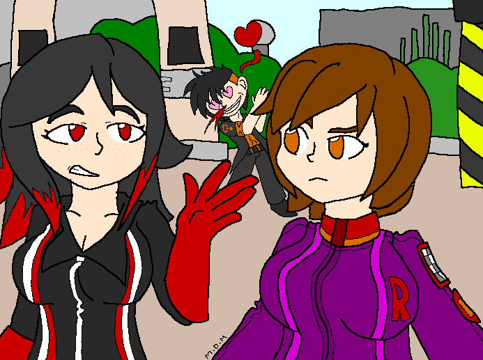 [Art Gift] Two Rita's and an Oblivion by mitchika2
