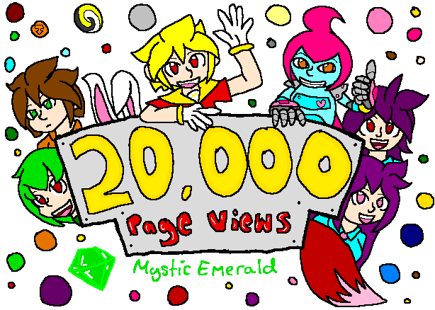 20,000 Page Views [Thank You] by mitchika2