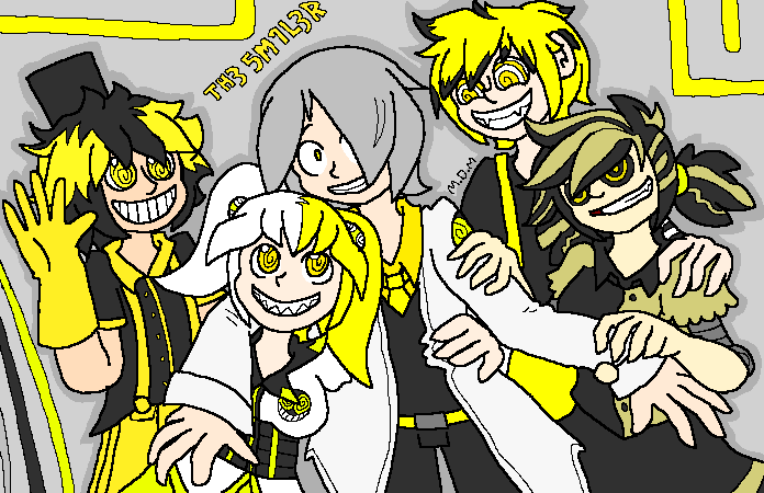 The Smiler - Containment of Crazy by mitchika2