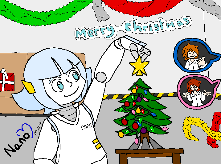 Nano's Christmas by mitchika2
