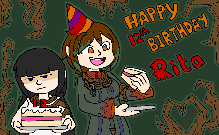 Happy Birthday Rita by mitchika2