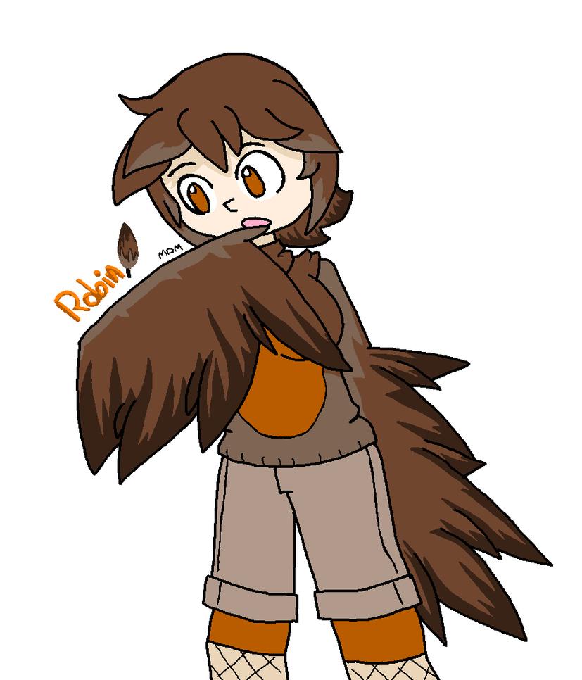 Harpy Robin by mitchika2