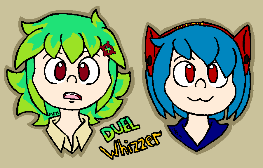 Duel and Whizzer by mitchika2