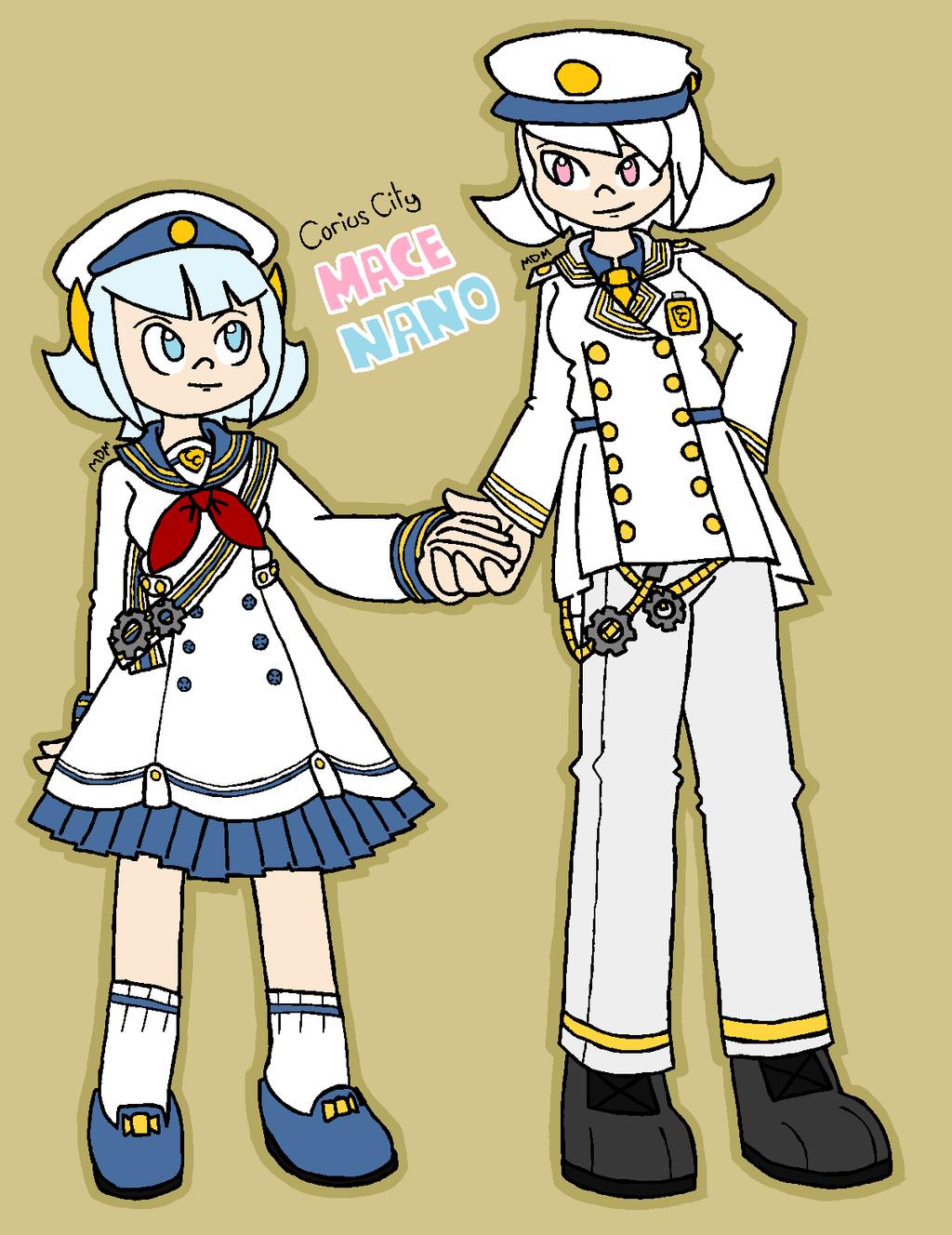 Lolita Mace and Nano by mitchika2