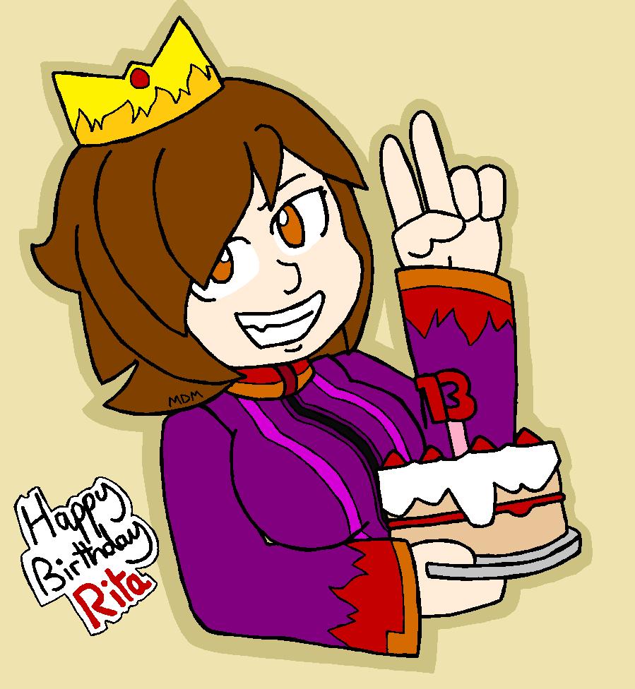 Rita 13th birthday by mitchika2