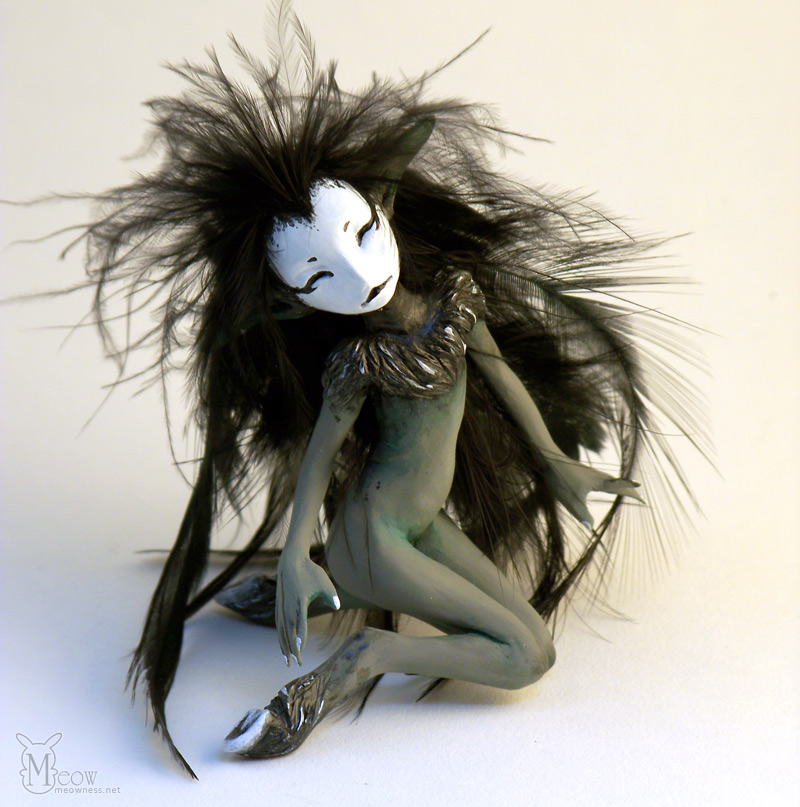 Little Blackbird by ladymeow
