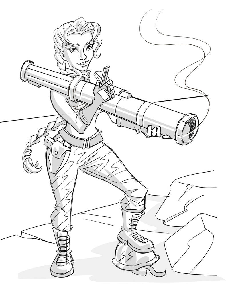 Quick Sketch - Cammy by hqbrum-art