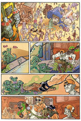BULLET N'CUT page 1 with color