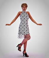 Retrostyle Dress by kratzdistel