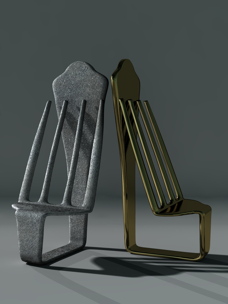 Fork Shaped Chair