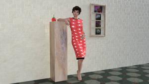 Simple Dress for Genesis 8 Female