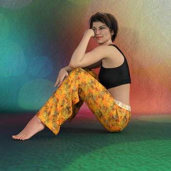 dForce Pants for Genesis 8 Female by kratzdistel