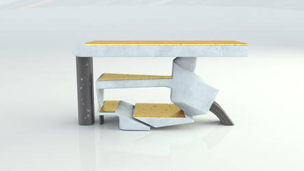 Designer Konsole Table by kratzdistel