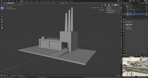 Low Poly Factory WIP 1