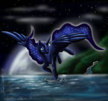 Princess Luna by Wolfangkun